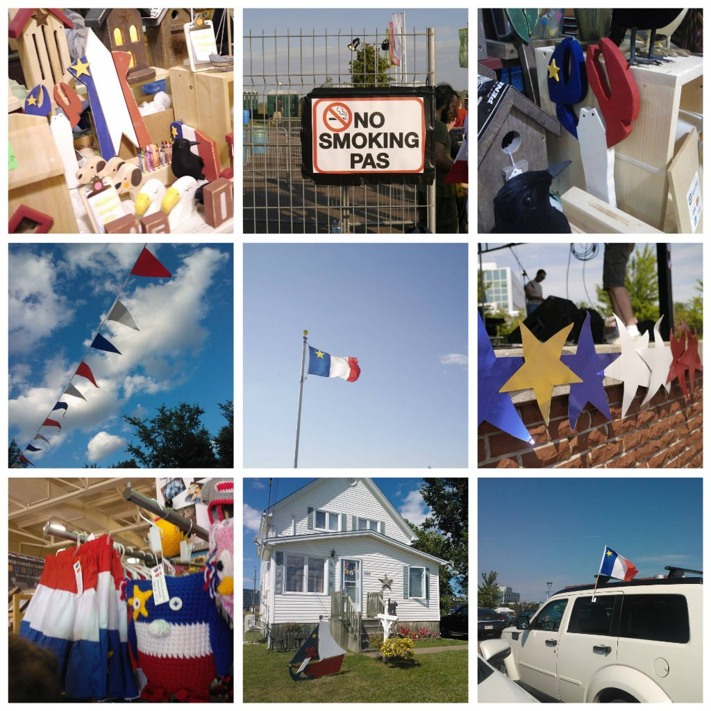 collage fête acadie
